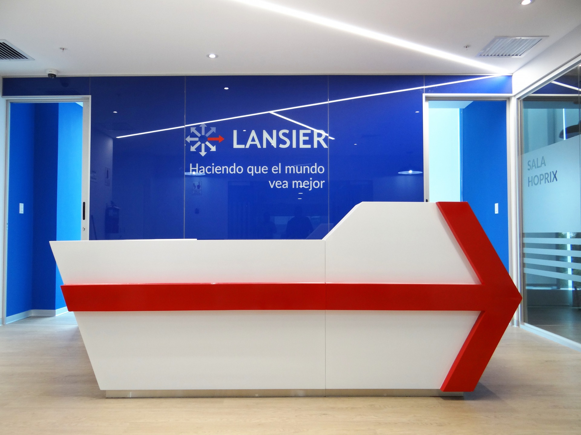 Lansier - Recepción A - Castellano